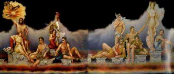 Dioses del olimpo mitologia para ni os for Jardines del olimpo