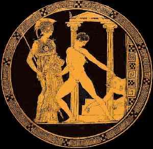 Teseo y el Minotauro.
